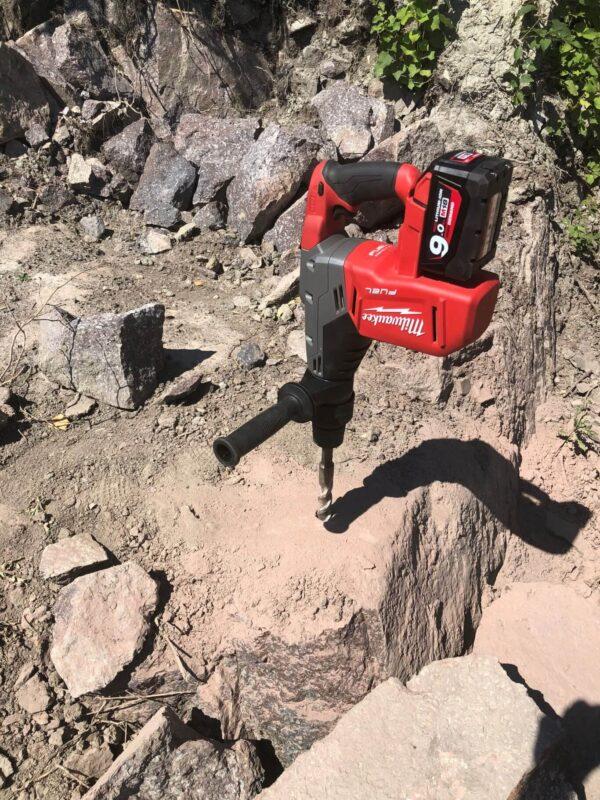 Batteri borhammer sds max